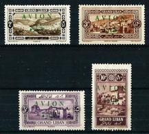Gran Líbano (Francés) Nº A-9/12 Nuevo* - Great Lebanon (1924-1945)