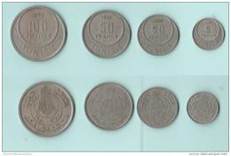 Tunisia Tunisie 5 + 20 + 50 + 100 Francs - Tunisia