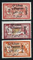 Gran Líbano (Francés) Nº A-5-7-8 Nuevo* - Great Lebanon (1924-1945)
