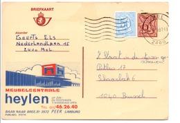 BELGIQUE PUBLIBEL HEYLEN 2727N - Stamped Stationery