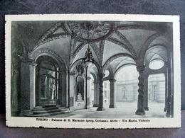 (FP.NV17) TORINO - PALAZZO ASINARI DI SAN MARZANO O Palazzo Turati - ATRIO, VIA MARIA VITTORIA - Churches