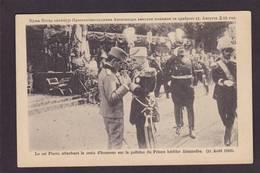CPA Serbie Serbia Non Circulé Militaria Le Roi Pierre Royalty - Serbia