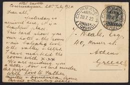 Italy - Postcard Courmayeur Et La Chaine Du M.Blanc - Non Classificati
