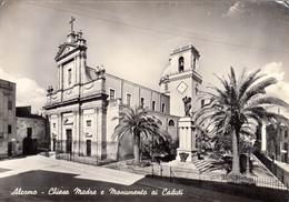 Alcamo - Chiesa Madre E Monumento Ai Caduti - Trapani