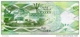 BARBADOS P. 74b 5 D 2017 UNC - Barbados