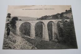 CPA - SAINT DIDIER Sous RIVERIE (69) - Viaduc Du Bozançon - Other Municipalities