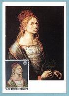 Carte Maximum 1980 - Albert Durer Autoportrait - YT 2090 - Paris - 1980-89