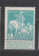 COB 90 ** Neuf Sans Charnière Cote 8€ - 1910-1911 Caritas