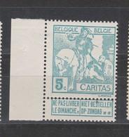 COB 86 ** Neuf Sans Charnière Cote 8€ - 1910-1911 Caritas