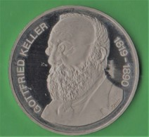 5 Francs 1990 Keller Svizzera Suisse Schweiz Switzerland - Svizzera