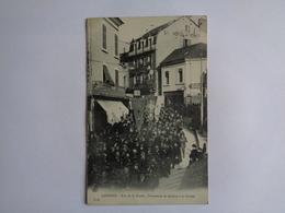 Lourdes - Rue De La Grotte - Hôtel De Rome - Lourdes