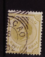 Dutch Antilles - Curacao NVPH 10 Used (1873) - Curazao, Antillas Holandesas, Aruba