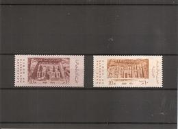 Egypte - Monuments De Nubie ( 472 X 2 - Curiosité : 1 Timbre Plus Clair à Voir) - Egipto