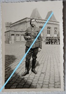 Photo ABL CHASSEUR ARDENNAIS 2ème Rgt ChA Vers 1939 40 Ardenne Luxembourg Bastogne ? Armée Belge Leger - War, Military