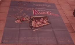 AFFICHE CINEMA ORIGINALE FILM QUI VEUT LA PEAU DE ROGER RABBIT ZEMECKIS HOSKINS DESSIN ANIME ANIMATION - Posters