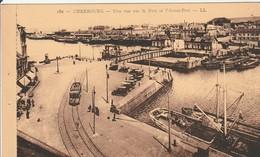 CHERBOURG Vue Sur Le Port Et L'Avant Port - Cherbourg