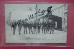 Cp  Brigade De Lepuix Prise De 7 Charges Le 21 Janvier 1905 Au Ballon D'alsace Tampon Fort De Vezelos - Zoll