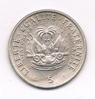 5 CENTIMES 1975 HAITI /9376/ - Haïti