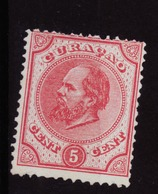 Dutch Antilles - Curacao NVPH 3 MNG (1873) - Curazao, Antillas Holandesas, Aruba