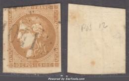 *RARE* GC 1041 (Clans, Alpes-Maritimes (87)), Cote 100€ (+80€ Pour Le Timbre (N° 43A, Pos 12) - 1849-1876: Klassieke Periode