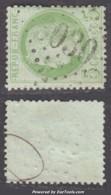 *RARE* GC 3030 (Propriano, Corse (19)), Cote 90€ (+10€ Pour Le Timbre) - Marcophilie (Timbres Détachés)