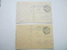 IVOIRY ,  2   Carte  Postale  Militaire Allemagne - Marcofilie (Brieven)