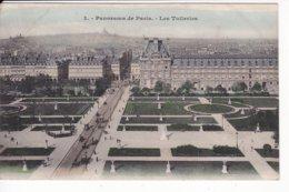 L120C_490 - Paris - 3 Panorama De Paris. - Les Tuileries - Frankreich