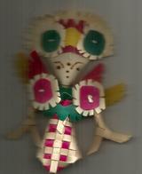 Traditional Balinese Origami En Feuille De Palmier Tissé (woven Palm Leaf)., From Bali - Personnages