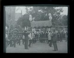 Negatif Photo Ancienne - Fete Religieuse Procession - Foto