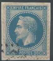 Lot N°51635  N°29A/fragment, Oblit - 1863-1870 Napoleon III With Laurels