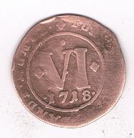 VI PFENNING 1718 PADERBORN DUITSLAND /9389/ - [ 1] …-1871 : Duitse Staten