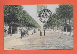 CPA..dépt 75..PARIS 17  :  Avenue De La Grande Armée - Métropolitain  Station  De Maillot..n°3 : Voir Les 2 Scans - Arrondissement: 17