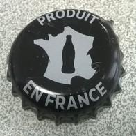 France Capsule Crown Cap Coca Cola Zéro Noire Produit En France - Soda