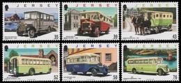 Jersey 2008 - Mi-Nr. 1342-1347 ** - MNH - Omnibusse / Buses - Jersey
