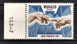 MONACO 1971 -  N° 855 - NEUF ** - Monaco