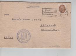 97PR/ Deutsches Reich Brief Altona 1935 Einladung > Altona - Storia Postale