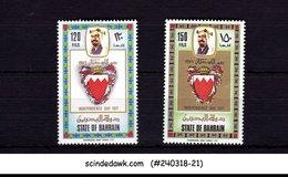 BAHRAIN - 1971 INDEPENDENCE DAY SCOTT#184-185 - 2V - MINT NH - Bahrein (1965-...)