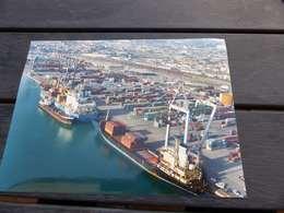 P-13 , Photo Port Autonome De Marseille , Vue D'ensemble Du Port, Containers, Grues, BAteaux - Luoghi