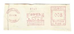 Deutschtes Reich AFS - RÜSSELSHEIM, OPEL Automobile - Fahrräder - 1936 - Fábricas Y Industrias