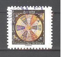 France Autoadhésif Oblitéré (assiette N°9) (cachet Rond) - Francia