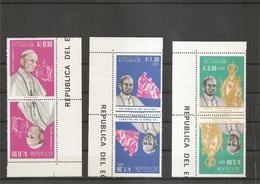 Equateur - Pape Paul VI ( 1242/1244 En Tete-beche XXX -MNH) - Ecuador