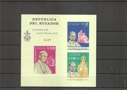 Equateur - Pape Paul VI ( Bf 23 XXX -MNH) - Ecuador