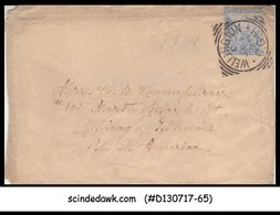 CAPE OF GOOD HOPE - 1893 ENVELOPE To USA With QV Stamp - Altri