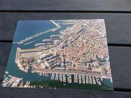 P-17 , Photo Panoramique De Marseille, Le Vieux Port Et Le Port Autonome - Luoghi