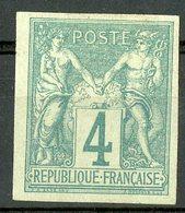N°25 Cote 28 € COLONIES GENERALES 4ct Vert Type Sage. * Neuf Avec Charnière - Sage