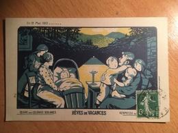 Nancy Kermesse Parc De La Pépinière En 1913, Oeuvre Des Colonies Scolaires - Rêves De Vacances Famille Enfants Berceau - Nancy
