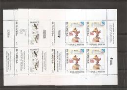 Argentine ( 1650/1653 En Feuilles XXX -MNH) - Unused Stamps