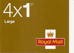 GREAT BRITAIN, WINDOW BOOKLET (RETAIL), 2006, RB 1, 4x1st, Large, - Libretti