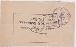 Devant - DAGUIN : LE THOR 1933 - Marcophilie (Lettres)
