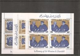 Churchill ( BF 16/18 XXX -MNH- De RasAlkhaima) - Sir Winston Churchill